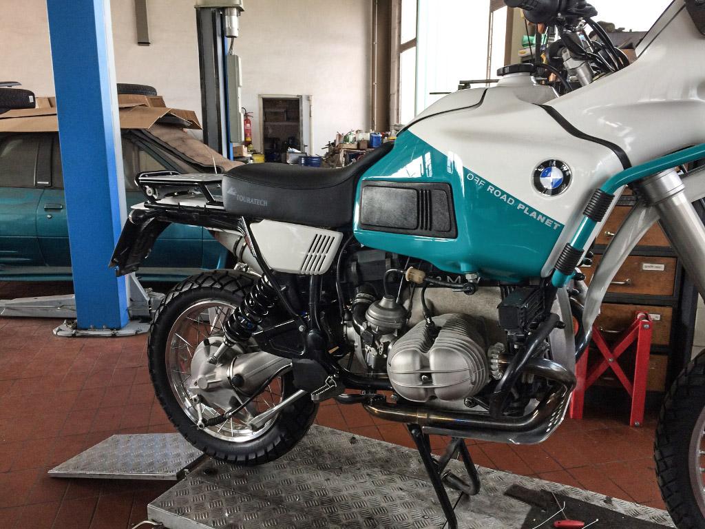 OFF ROAD PLANET Spezial Umbau BMW R100GS PD