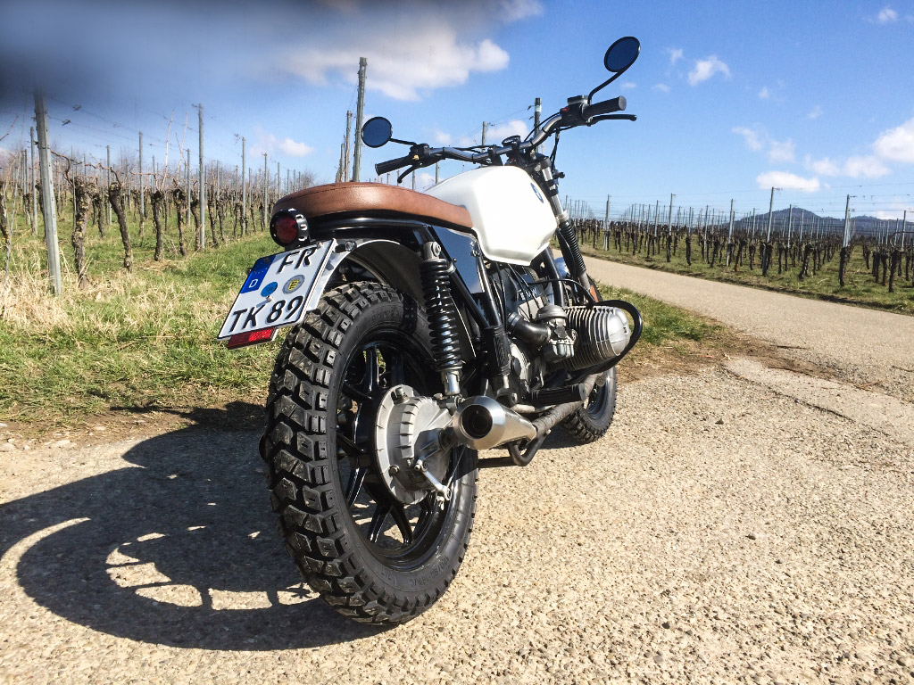 OFF ROAD PLANET Spezial Umbau BMW R65 LS auf Scrambler