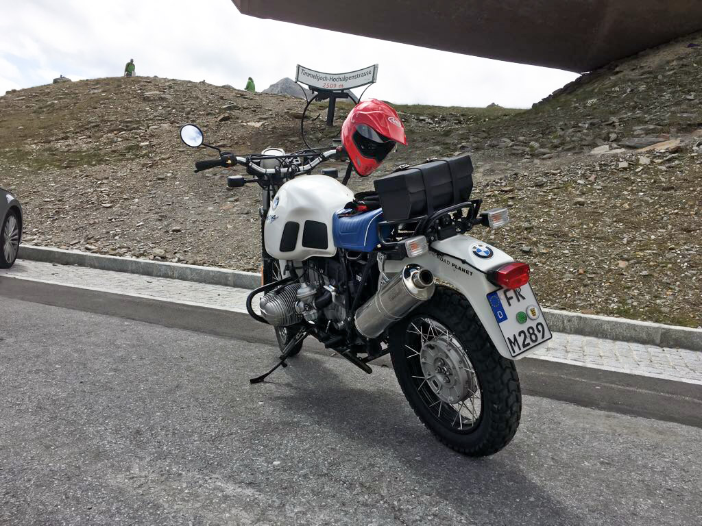 OFF ROAD PLANET Spezial Umbau BMW R100GS